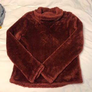 Joy lab xs fuzzy pullover